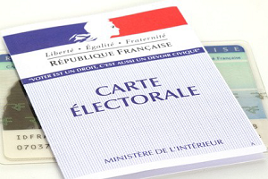 Inscription liste électorale
