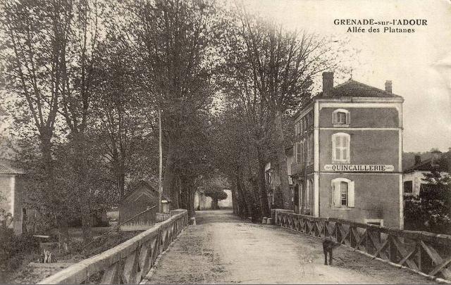 Cartes postales anciennes / Notre village / Accueil - Pissos